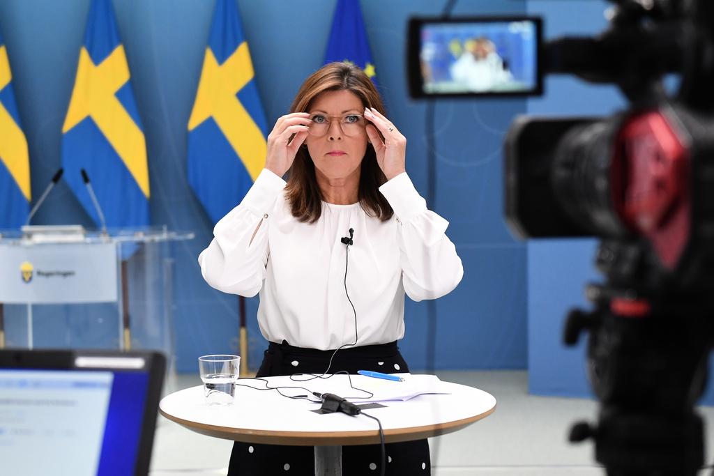 – Framtiden på svensk arbetsmarknad är ljus, säger Arbetsmarknadsminister Eva Nordmark (S).
